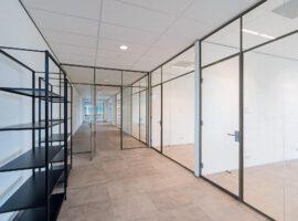 Almere Dimensio Kantoor Interieur Glaswanden Aan de Stegge Intermontage