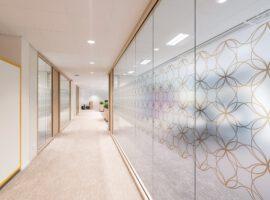 Amersfoort ABN AMRO Kantoor Inrichten Wanden WoodFrame Glaswand Intermontage