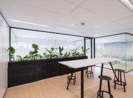 Amersfoort Waterschapshuis Interieur Vergadercentrum Mobiele Paneelwand Wanden Maatwerk Plafonds Intermontage