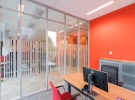 Amstelveen JTi Kantoor Maatwerk Interieur Second Life Wanden Glaswanden Intermontage