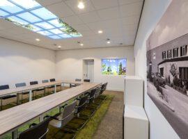 Apeldoorn Talen Vastgoed Beheer Maatwerk Balie Open Ceiling Plafond Intermontage