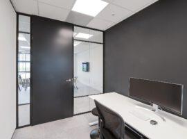 Arnhem Picqer Kantoor Glaswanden Plafonds Indeling Interieur Intermontage