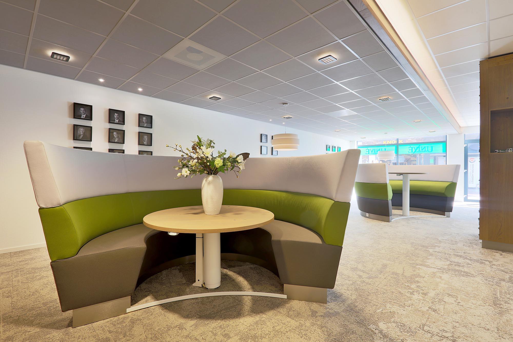 Verbazingwekkend Bank | Intermontage | Maatwerk zitbanken voor op kantoor DK-22