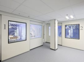 CARE Systeemwand Zorgsector Ziekenhuis Wand Intermontage