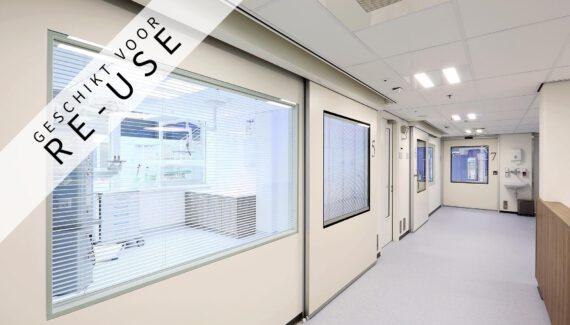 CARE Systeemwand Zorgsector Ziekenhuis Wand Intermontage