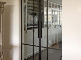 ClassicFrame Glaswand Glazen Deur Particulier Klassiek Nostalgisch Wand Intermontage