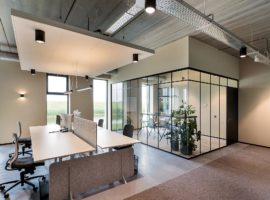 Dronten ACP Classic Wand ClassicFrame Glaswand Industrieel Interieur Kantoor Intermontage