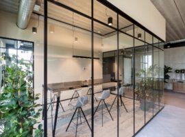 Dronten ACP Classic Wand ClassicFrame Glaswand Industrieel Interieur Kantoor Intermontage
