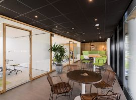 Groenlo Kuster Energy Point Complete Inrichting Interieur WoodFrame Systeemwand Intermontage
