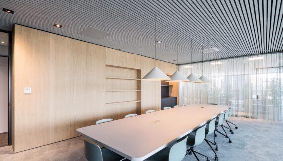 Hoofddorp Vitakruid Kantoorinrichting Nieuwbouw Maatwerk Interieur Glaswanden Intermontage