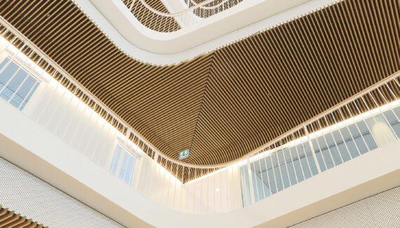 Houten Systeemplafond Plafond Houten Latten Intermontage