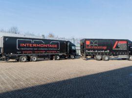 Intermontage Oplevering Vrachtwagen Trailer Wensink Wemacon 010