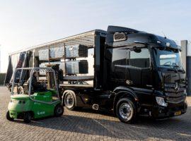 Intermontage Oplevering Vrachtwagen Trailer Wensink Wemacon 018