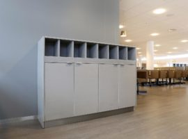 Kasten op maat Intermontage IBP Interieurbouw Kastenwand Wandmeubel Opbergruimte Kantoor Maatwerk