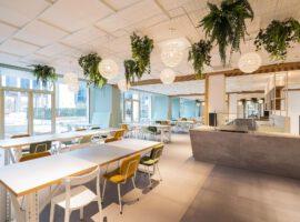Leeuwarden GroenLeven Inrichten Kantoor Second Life Maatwerk Interieur Systeemwanden Plafonds Intermontage