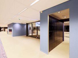 Lockers Intermontage IBP Interieurbouw Kluisjes Kantoor Lockerkast Vakkenkast Beveiligde Kast Locker
