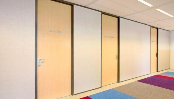 Luxe Metalstudwand Naadloze Wand Gesloten Scheidingswand Intermontage