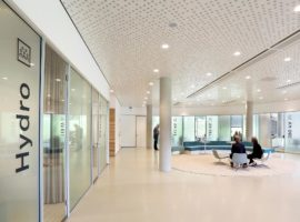 Metalen Systeemplafond Metaal Strek Plafond Intermontage