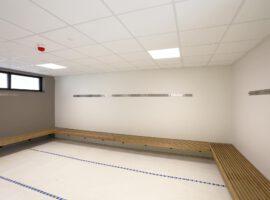 Metalstud Wanden MS Metal Stud Wand Naadloze Scheidingswand Intermontage