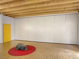 New Eco Basis Standaard Mobiele Paneelwand Vouwwand Verplaatsbare Paneel Wand Intermontage