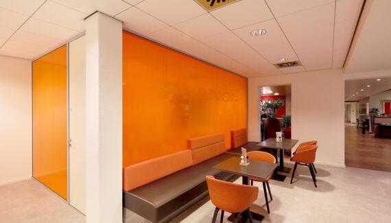 Nijmegen Planon TWIN Dubbele Glazen Wand Geluidsisolatie Kantoor Intermontage