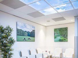 Open Ceiling Systeemplafond Plafond Afbeeldingen Fotopanelen Fotopaneel Intermontage