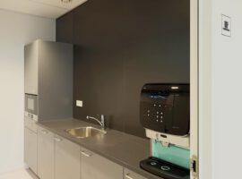Pantry Intermontage IBP Interieurbouw Kantoorkeuken Bedrijfskeuken Keukenblok Kantoor