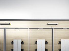 PasseerWand COVID-19 Wand Corona Maatregelen Anderhalvemeter Intermontage Black Reindeer 003