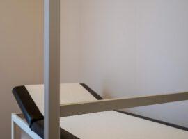 Pedicure Scherm Behandelscherm Mobiel Verrijdbaar Preventiescherm Contactberoepen Oplossing Corona COVID-19 Intermontage