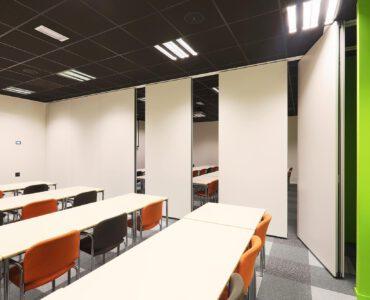 Premium EASYmatic Mobiele Paneelwand Vouwwand Verplaatsbare Paneel Wand Intermontage