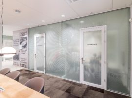 Putten, Gemeentehuis Glaswanden TWIN Interieur Overheid Intermontage