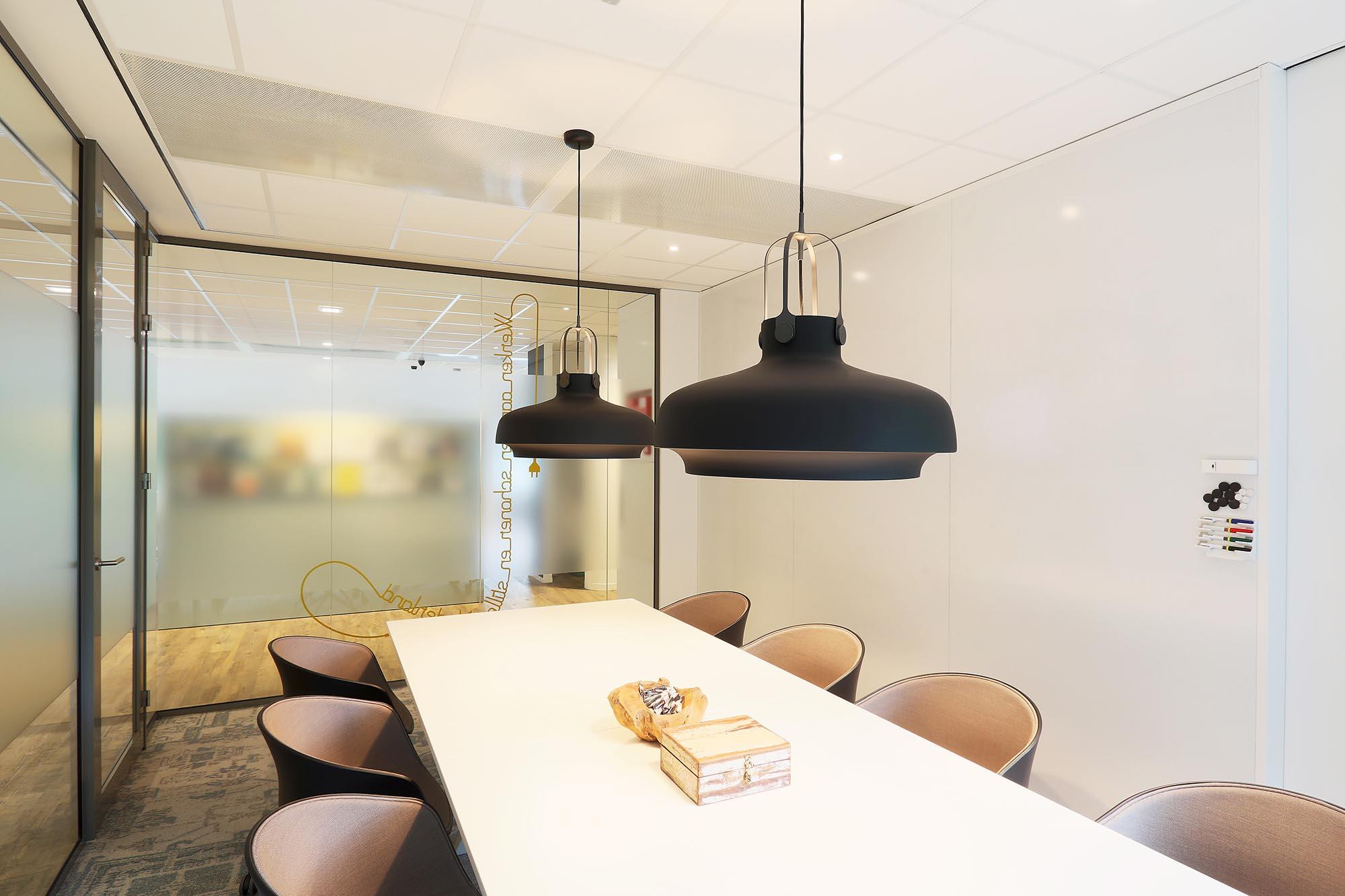 Stalen Systeemwand Whiteboard Wand Magneetwand Kantoor Intermontage