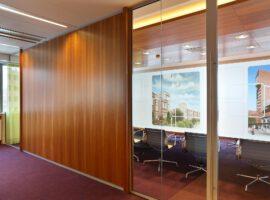 Systeemwand Melamine Gesloten Wand Kantoor Intermontage