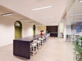 Tafel Intermontage IBP Interieurbouw Vergadertafel Kantinetafel Bureautafel Op Maat