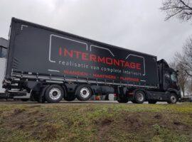 Trailer Intermontage Vrachtwagen Levering 01