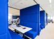Treinzit Treincoupe Treinbank Kantoor Interieur Akoestiek Privacy Interieurbouw Intermontage