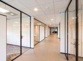 Twello Aan de Stegge Nieuwbouw Kantoor Interieur Systeemwanden Intermontage