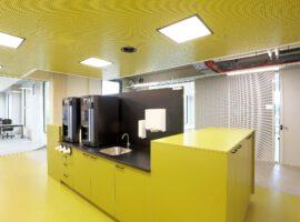 Utrecht Hogeschool Heidelberglaan HU UAV-GC Compleet Interieur Intermontage IBP Interieurbouw