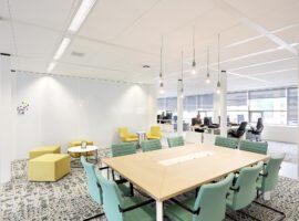 Utrecht SVB Inrichting Kantoor Intermontage IBP Interieurbouw