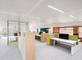 Wenum Wiesel Apeldoorn Linthorst Techniek Nieuwbouw Kantoor Inrichting Interieur Intermontage