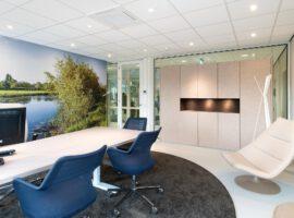Westervoort Gemeentehuis TWIN Dubbele Glaswanden Privacy Geluid Akoestische Kasten Intermontage